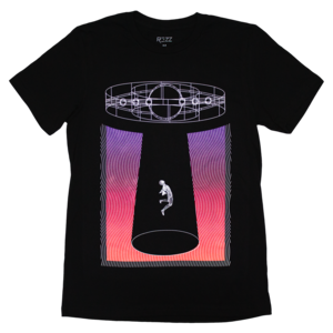 Spaceship (Black) Tee thumb