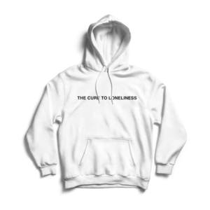 [PRE-ORDER] The Cure To Loneliness Hoodie (Ships week of Apr. 5th, 2019) thumb