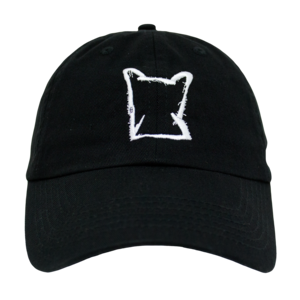 Seafox White Outline Logo Dad Hat thumb