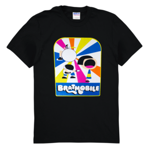 Bratmobile Cartoon T-shirt thumb