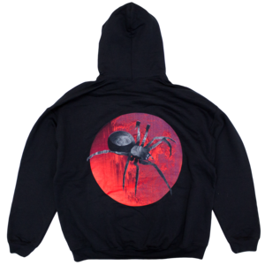 Spider On the Moon Hoodie thumb