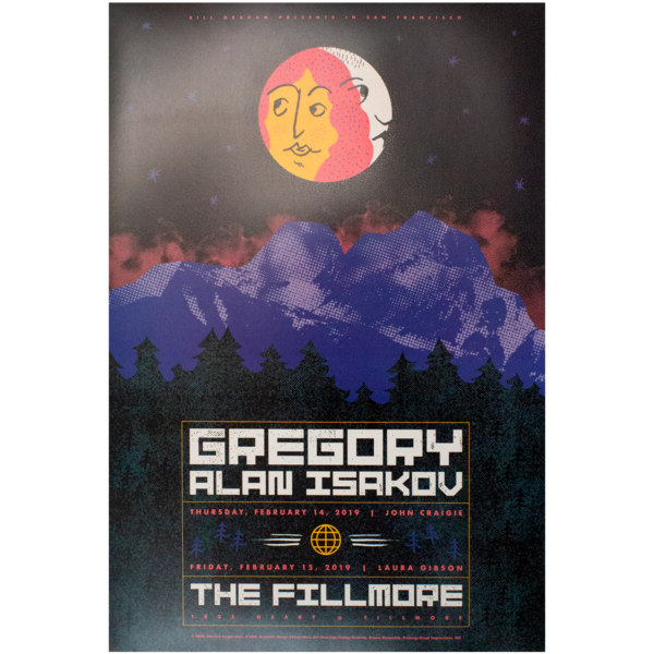 Gai thefillmore poster unsigned 1