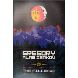 The Fillmore (San Francisco) February 2019 - Show Poster thumb