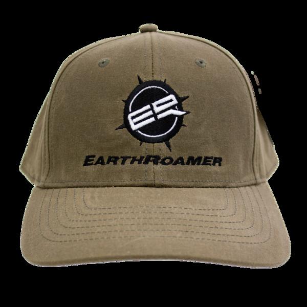 Earthroamer tan hat front 1