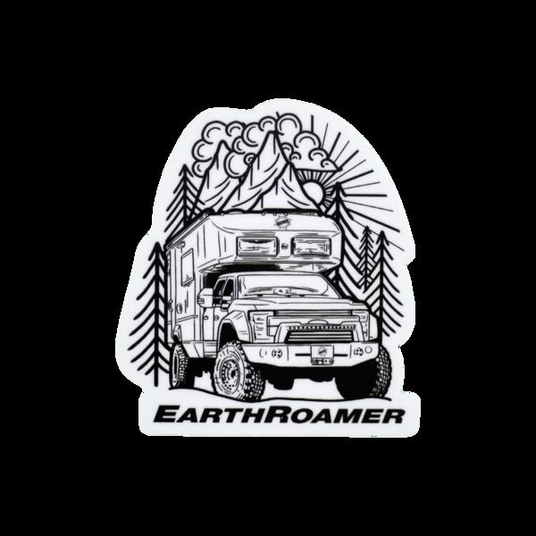 Earthroamer sticker 1