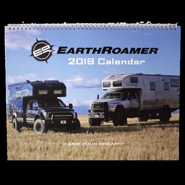 Earthroamer 2019 calendar