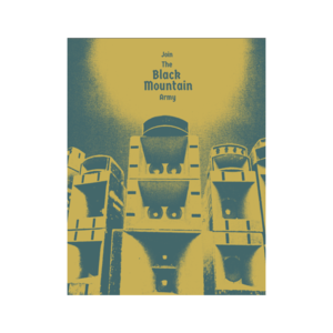 [PRE-ORDER] Black Mountain Army Poster (Ships week of May. 24th, 2019) thumb