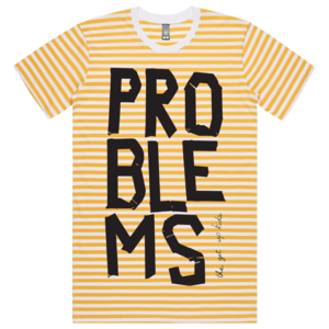 [PRE-ORDER] Problems Stripe Tee + Digital (Ships week of May. 10th, 2019) thumb