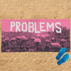 [PRE-ORDER] Problems Beach Towel + Digital (Ships week of May. 10th, 2019) thumb