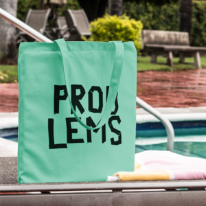 [PRE-ORDER] Problems Tote Bag + Digital (Ships week of May. 10th, 2019) thumb