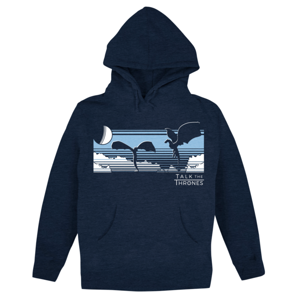 new concept 1d095 6d4a0 Talk the Thrones: Take Flight (Navy) Pullover Hoodie | The ...