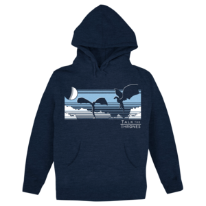 Talk the Thrones: Take Flight (Navy) Pullover Hoodie  thumb