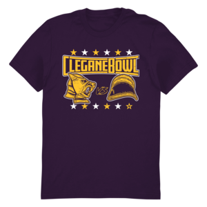 [PRE-ORDER] Talk the Thrones: CLEGANEBOWL (Purple) Tee (Ships week of May. 31st, 2019) thumb