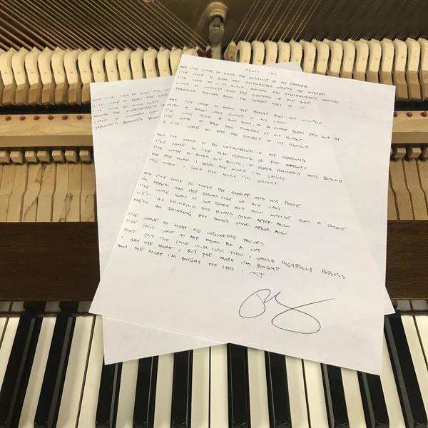 handwritten album download