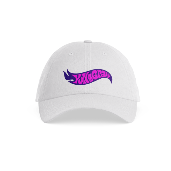 [PRE-ORDER] Gas Dad Hat (White) (Ships week of Oct. 23rd, 2020) thumb