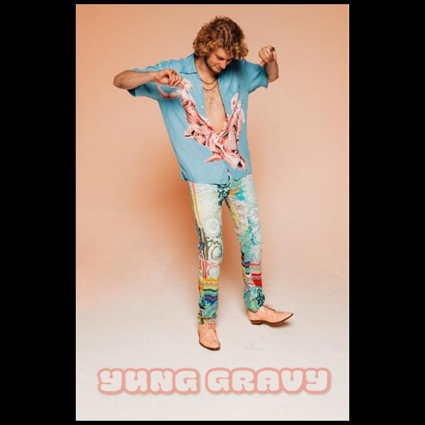 [PRE-ORDER] Gravy Dance Poster + Gasanova Digital Album (Ships week of Oct. 9th, 2020) thumb