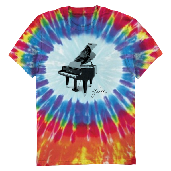 [PRE-ORDER] Trudy Piano (Tie Dye) Tee (Ships week of Dec. 11th, 2020) thumb