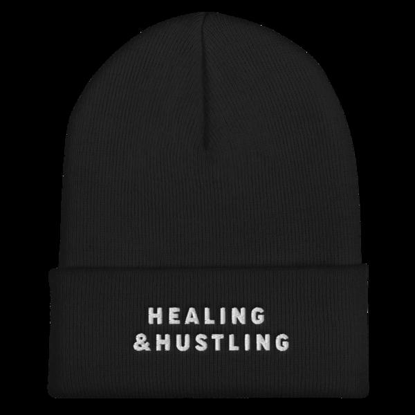 Healing and Hustling Beanie thumb