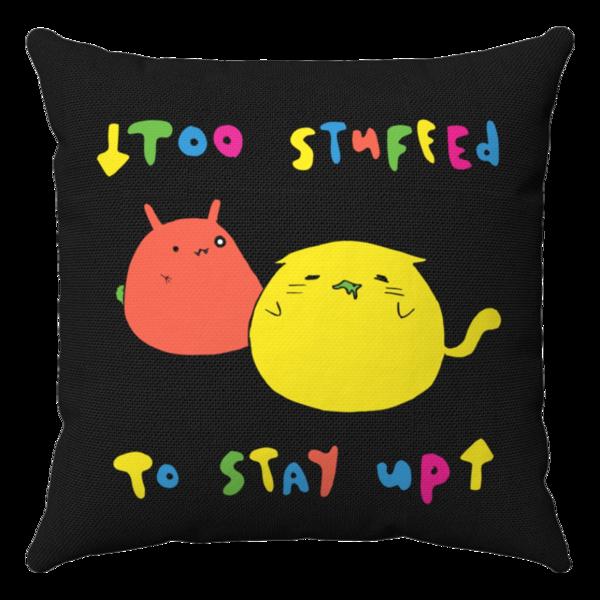 Too Stuffed Pillow thumb