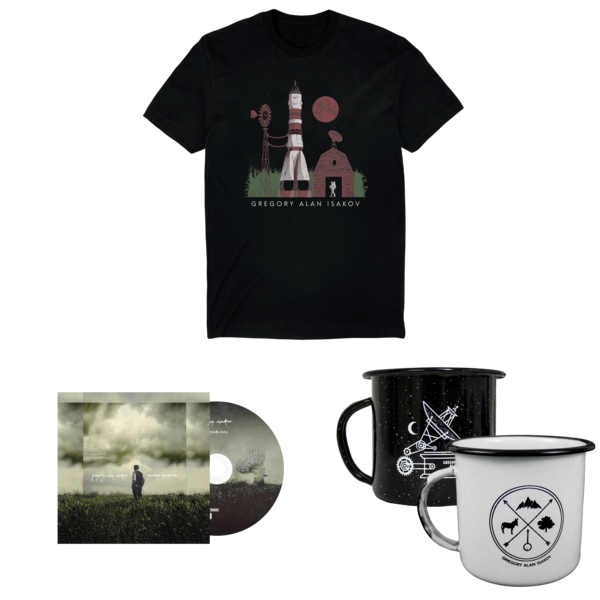 Space Farm T-Shirt + Evening Machines CD + Camping Mug  thumb