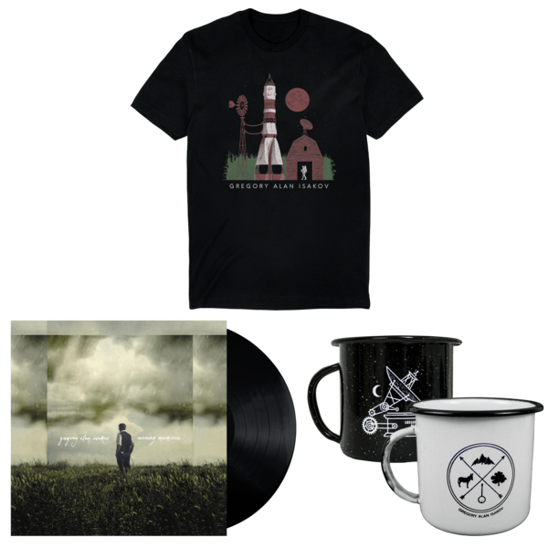 Space Farm T-Shirt + Evening Machines LP + Camping Mug  thumb