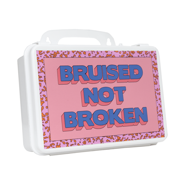 'Bruised Not Broken' First Aid Kit thumb