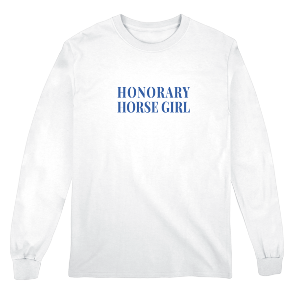 Honorary Horse Girl Longsleeve Tee thumb