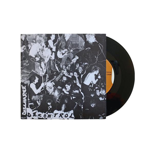 Discharge: Decontrol Vinyl 7