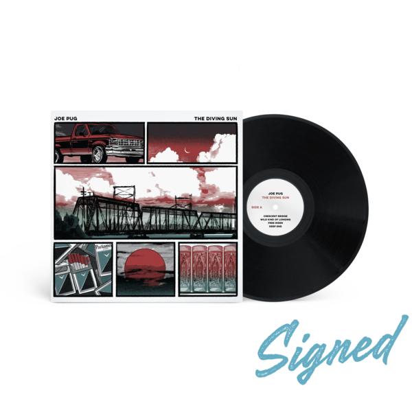 [PRE-ORDER] [SIGNED] Joe Pug: The Diving Sun Vinyl 10