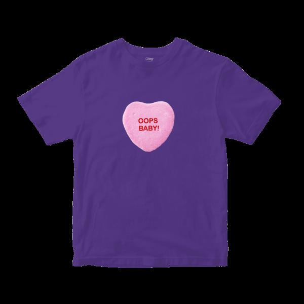 Sweet Heart Tee (Purple) thumb