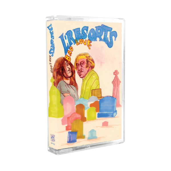 [PRE-ORDER] L'Resorts: Bad Love Cassette (Ships week of Apr. 2nd, 2021) thumb