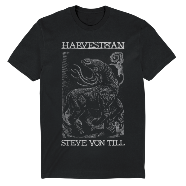 [PRE-ORDER] Harvestman Buck T-Shirt (Black) (Ships week of Apr. 30th, 2021) thumb