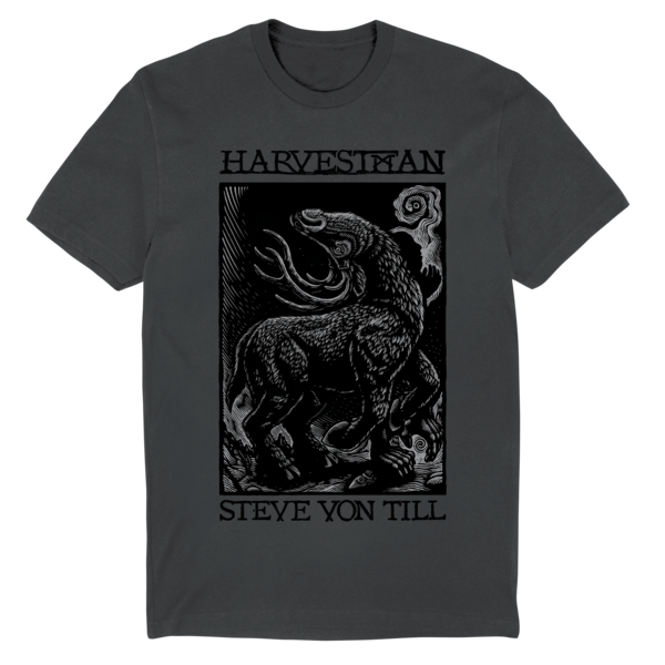 [PRE-ORDER] Harvestman Buck T-Shirt (Charcoal) (Ships week of Apr. 30th, 2021) thumb