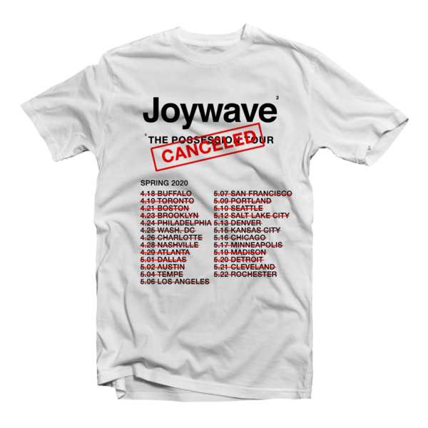 [PRE-ORDER] Possession Tour Cancelation Commemorative T-Shirt (Ships week of Mar. 12th, 2021) thumb