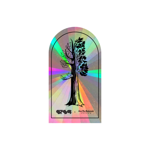[PRE-ORDER] STS9 x Save the Redwoods League Rainbow Sticker (Ships week of Mar. 26th, 2021) thumb