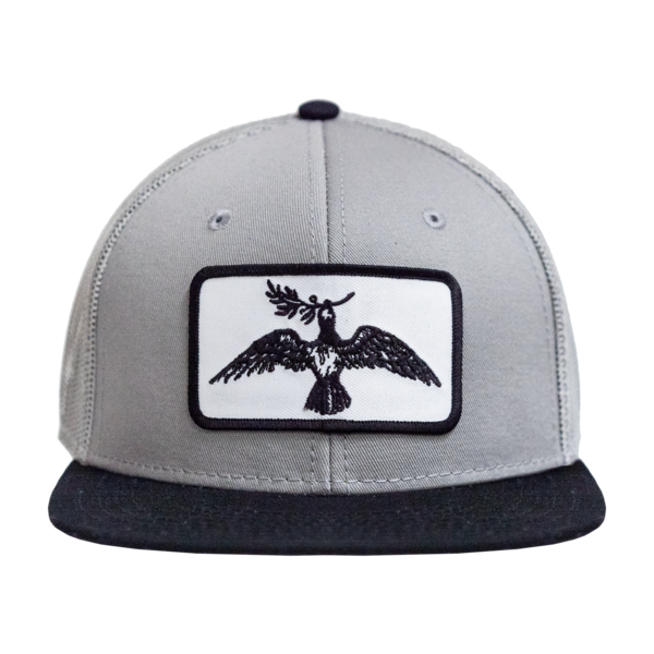 Joe Pug Logo Mesh Hat (Grey) thumb