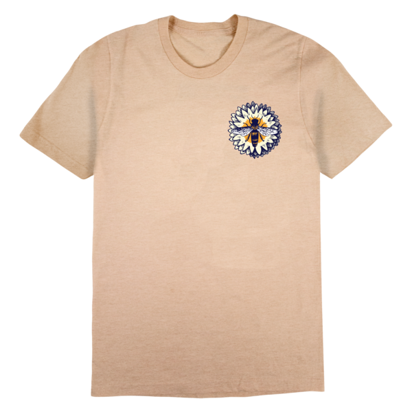 Bee Circle Tee (Natural) thumb