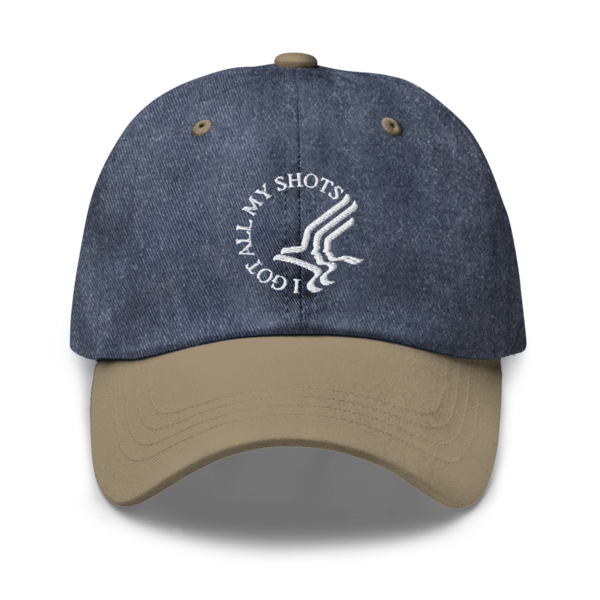[PRE-ORDER] I Got All My Shots Dad Hat (Ships week of Apr. 23rd, 2021) thumb