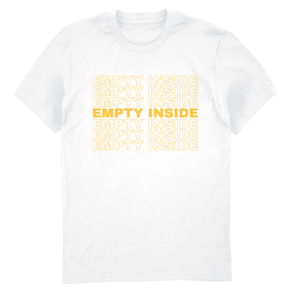 [PRE-ORDER] Stacked Logo Tee (White) (Ships week of Jul. 9th, 2021) thumb