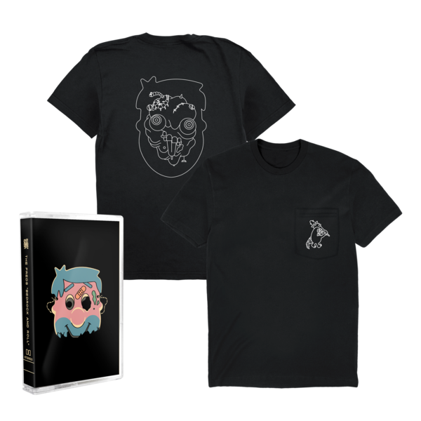 [PRE-ORDER] The Freds: Bedrock and Roll Cassette Tape + Pocket Tee (Ships week of Aug. 27th, 2021) thumb