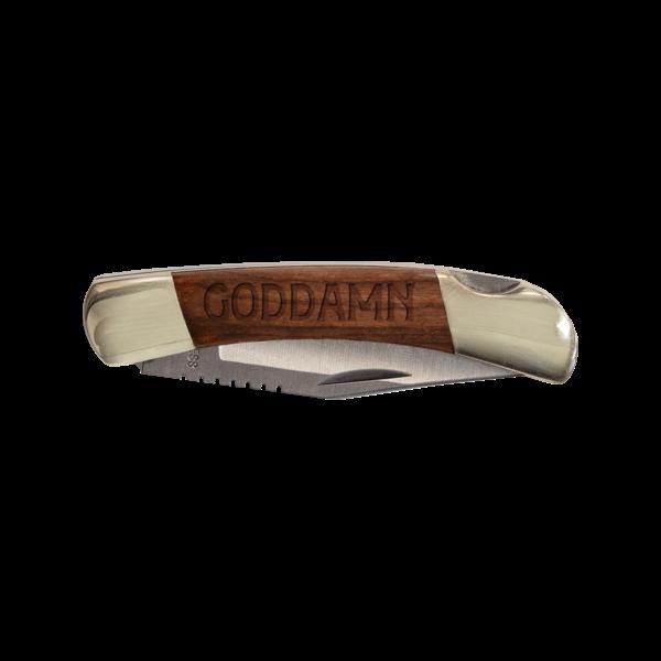 [PRE-ORDER] Goddamn Pocket Knife (Ships week of Sep. 7th, 2021) thumb