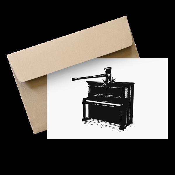 [PRE-ORDER] Letterpress Card (Ships week of Sep. 7th, 2021) thumb