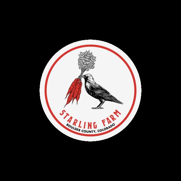 Starling Sticker thumb