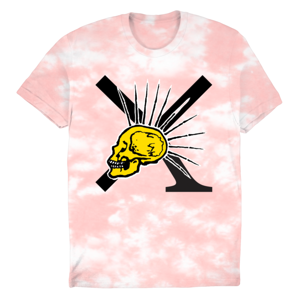 [PRE-ORDER] Nude/XPress Yourself Pink Dye T-Shirt (Ships week of Sep. 10th, 2021) thumb