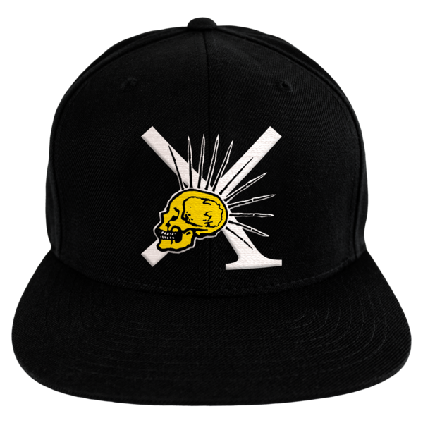 [PRE-ORDER] Nude/XPress Yourself Snapback Hat (Black)  (Ships week of Sep. 3rd, 2021) thumb