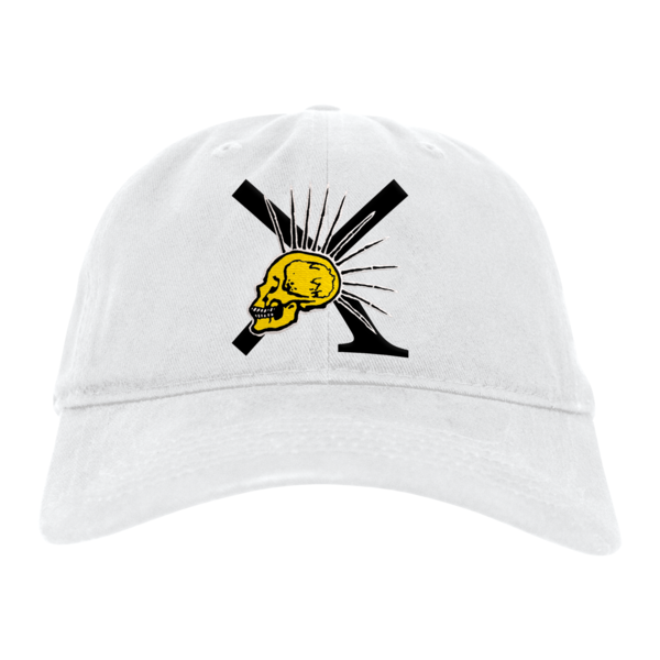 [PRE-ORDER] Nude/XPress Yourself Dad Hat (White)  (Ships week of Sep. 3rd, 2021) thumb