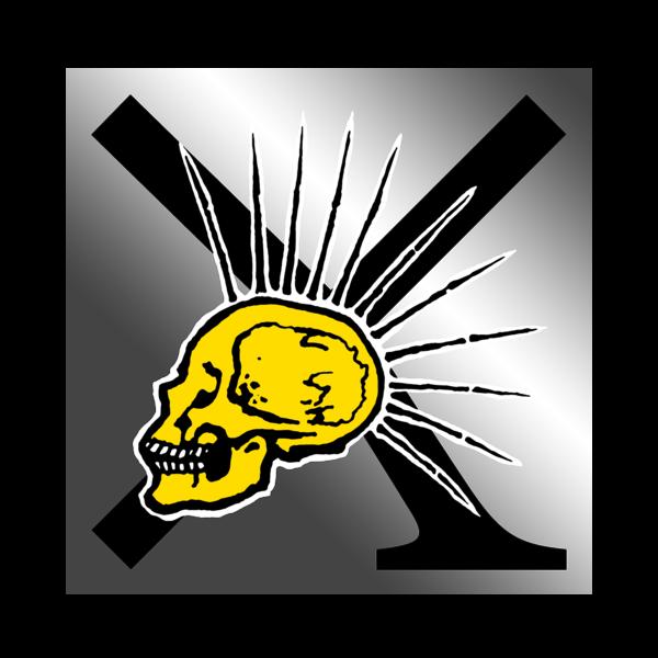[PRE-ORDER] Skull Sticker (Ships week of Sep. 3rd, 2021) thumb