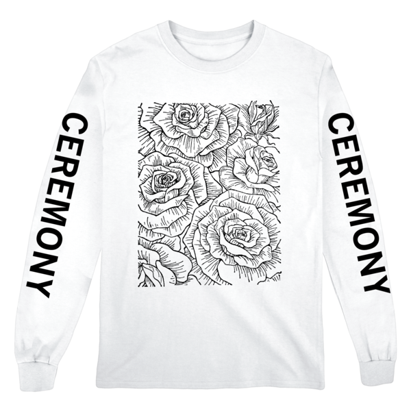 [PRE-ORDER] Ceremony Floral Longsleeve (White) (Ships week of Aug. 27th, 2021) thumb