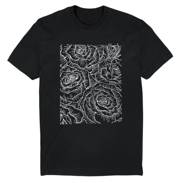 [PRE-ORDER] Ceremony Floral Tee (Black) (Ships week of Aug. 27th, 2021) thumb
