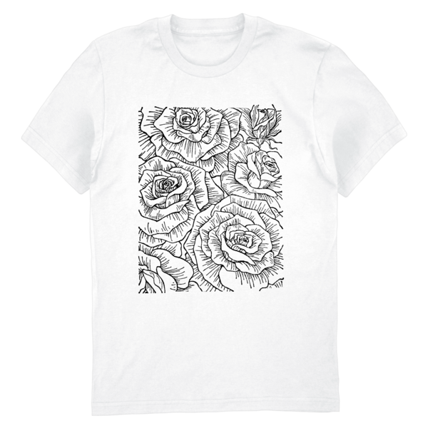 [PRE-ORDER] Ceremony Floral Tee (White) (Ships week of Aug. 27th, 2021) thumb